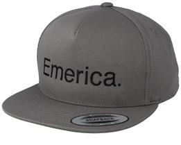 Pure Grey Snapback - Emerica