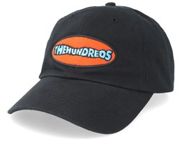 Wave Dad Cap Black Adjustable - The Hundreds