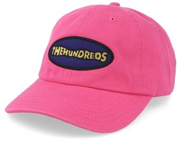 Wave Dad Cap Pink Adjustable - The Hundreds