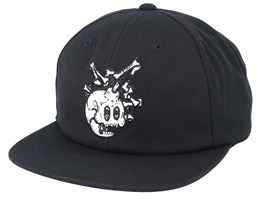 Bones Black Snapback - The Hundreds