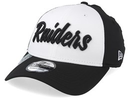 Oakland Raideras NFL 19 39Thirty White/Black Flexfit - New Era
