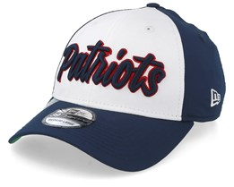 New England Patriots NFL 19 39Thirty White/Navy Flexfit - New Era