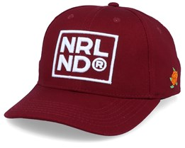 NRLND Hooked Maroon/White Adjustable - SQRTN