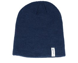 Keeper Navy Blue Long Beanie - Appertiff
