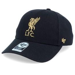 Metallic Los Angeles Dodgers Black 47 Brand Adjustable Cap