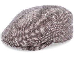 Frankie Tweed Brown Flat Cap - Mayser
