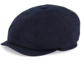 Seven Premium Black Flat Cap - Mayser