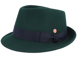 Troy Wolga Bottle Green Trilby - Mayser