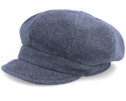 Camilla Pascal Stone Grey Flat Cap