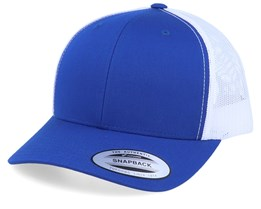 Blue White Trucker - Yupoong