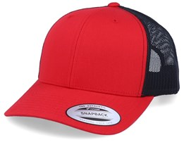 Red/Black Trucker - Yupoong