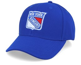 New York Rangers Value Core Structured Blue Adjustable - Fanatics