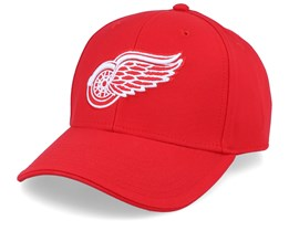 Detroit Red Wings Value Core Structured Red Adjustable - Fanatics