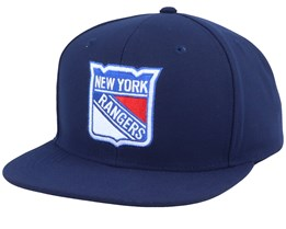 New York Rangers Value Core Navy Snapback - Fanatics