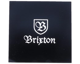 Sticker Logo 10x10 CM Black - Brixton