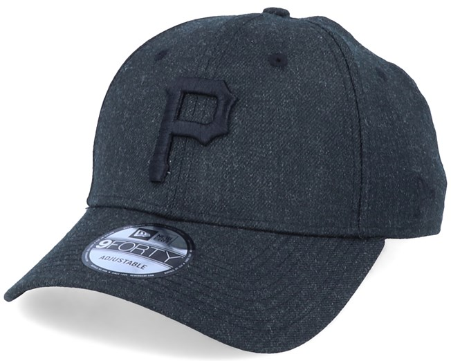 Pittsburgh Pirates Winterized The League Black/Black Adjustable - New Era