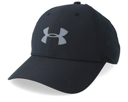 Men's Driver Cap 3.0 Black/Pitch Gray Black Adjustable - Under Armour