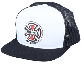 Co Mesh White/Black Trucker - Independent