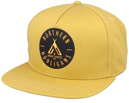The Urban Campers Cap Mustard Yellow Snapback - Northern Hooligans