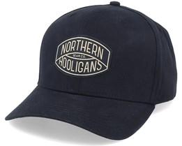 The Golden Cap Black Adjustable - Northern Hooligans