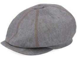 Earl Linen Brown Flat Cap - Mayser