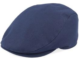 Frankie Concord Marine Blue Flat Cap - Mayser