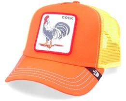 Electric Tamale Neon Orange/Yellow Trucker - Goorin Bros.
