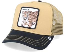 Jaguar Khaki/Black Trucker - Goorin Bros.