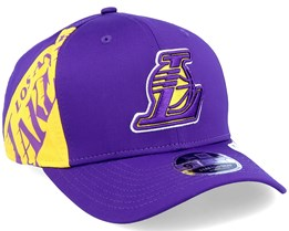 LA Lakers 9Fifty Stretch Snap Purple/Yellow Adjustable - New Era