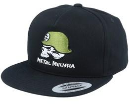 M/M Helmet Black Snapback - Metal Mulisha