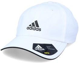 Golf Cap White/black Adjustable - Adidas