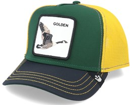 Golden Goose Green/Yellow Trucker - Goorin Bros.