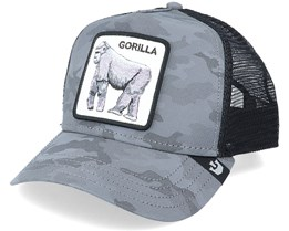 Instinct Only Gorilla Reflective Camo/Black Trucker - Goorin Bros.