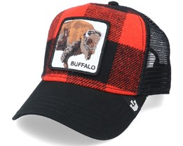 Buffalo Red/Black Trucker - Goorin Bros.