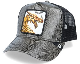 Fire Breather Black Fake Snake Skin Trucker - Goorin Bros.