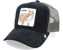 Hunter In The Woods Manchester Black/Grey Trucker - Goorin Bros.