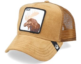 Moose Head Manchester Brown Trucker - Goorin Bros.