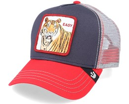 Easy Tiger Navy/Silver Trucker - Goorin Bros.