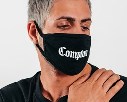 1-Pack Compton Black Face Mask - Headzone