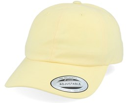 Peached Cotton Twill Banana Yellow Dad Cap - Yupoong