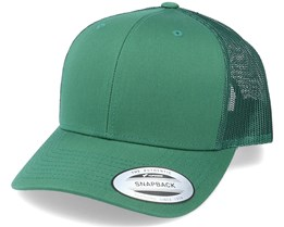 6-Panel Retro Evergreen Trucker - Yupoong