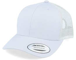 6-Panel Retro Silver Trucker - Yupoong