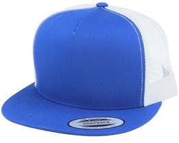 Snapback Royal/White Trucker - Yupoong