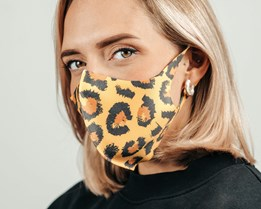 1-Pack Leopard Face Mask - Voz