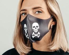 1-Pack Skull Face Mask Face Mask - Voz