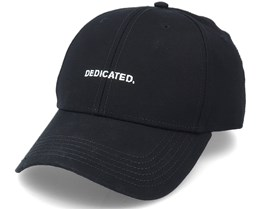 Sport Cap Logo Black Adjustable - Dedicated