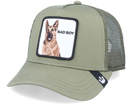 Hatstore x Exclusive Bad Boy Olive Trucker - Goorin Bros.