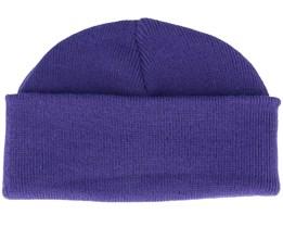 Purple Short Beanie - Beanie Basic
