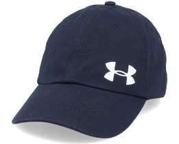 Cotton Golf Cap Black Dad Cap - Under Armour