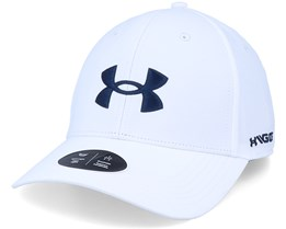 Golf 96 Hat White Adjustable - Under Armour